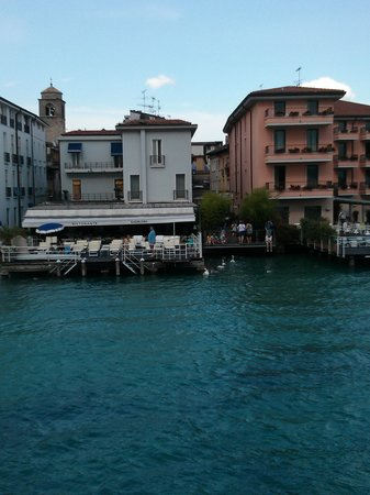 Flaminia Hotel: view from water