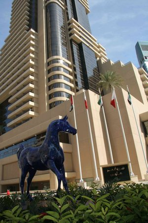 Grosvenor House Dubai: Hotel entrance