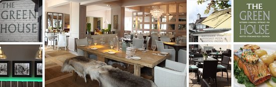 The Green House Sutton Coldfield: Stunning Dining Area