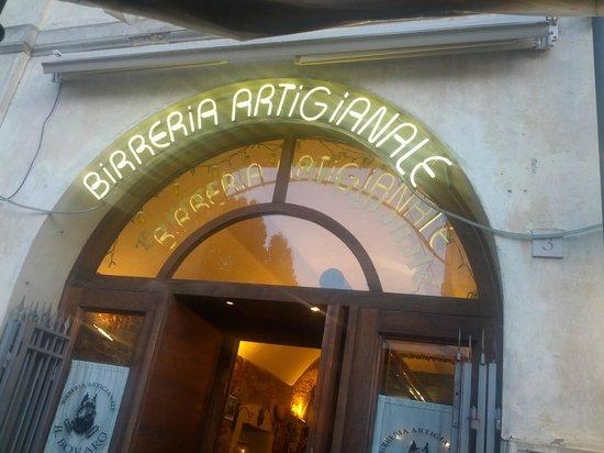Birreria Artigianale Il Bovaro: La porte d'entrée