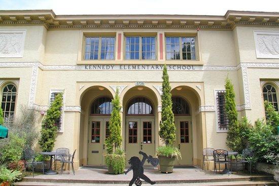 McMenamins Kennedy School: Front Entrance