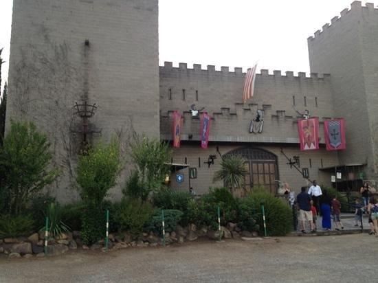 Tordera, Spanje: Castle Entrance