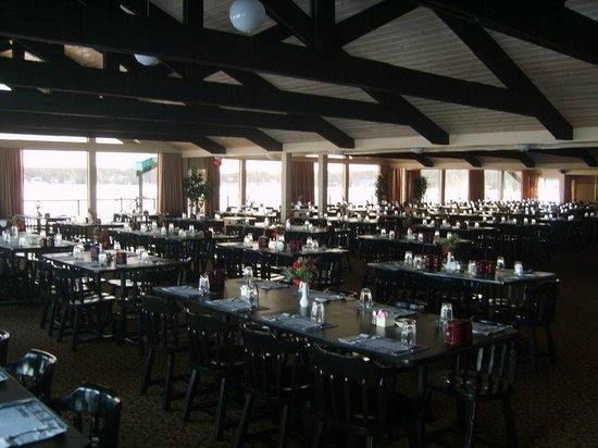 Cragun's Resort on Gull Lake: Restaurante