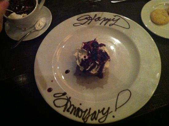 18 Seaboard : a nice touch on our anniversary !