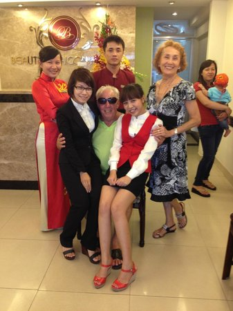 Beautiful Saigon Hotel: Our family away from home !!! We love you guys !!