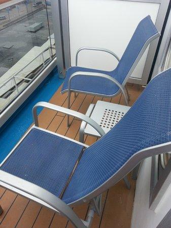 Port of Galveston: Spa Deck Cabin Balcony