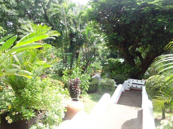 La Mariposa Hotel: Entry way