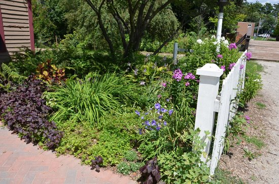 Mill Race Historical Village: The Gardens