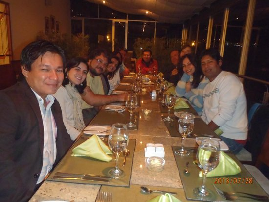 Stubel Suites and Cafe : Encuentro de amigos en el Restaurante del Hotel Stubel