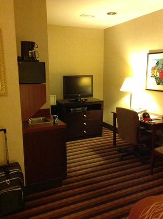 Comfort Inn Downtown: first floor room