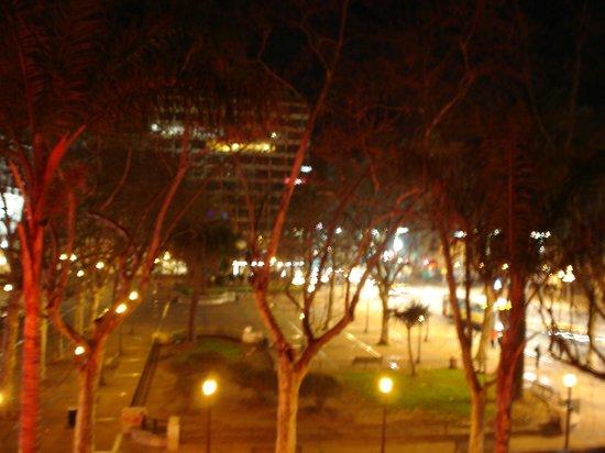 Lancaster Hotel: vista para a praça