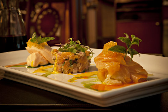 The Evergreen Restaurant and Lounge : Salmon Trio