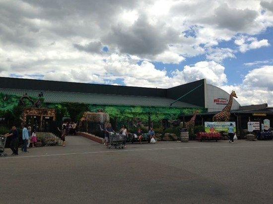 Jungle Jim's International Market : 正面玄関の写真