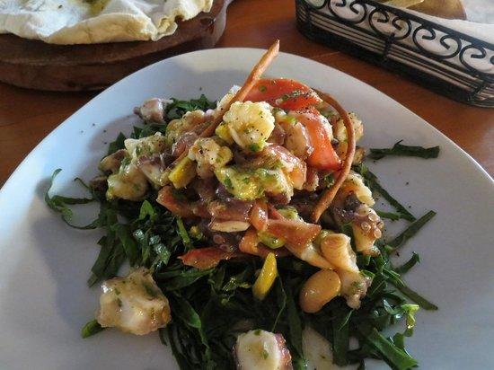 La Tratto Península: food