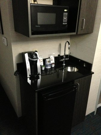 Holiday Inn Express Hotel & Suites Knoxville West - Papermill Dr: Wet bar with micro & fridge