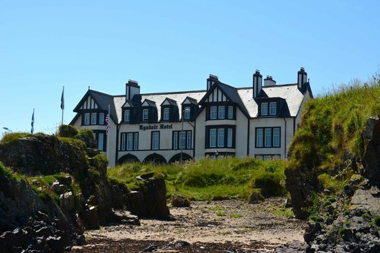 The Ugadale Hotel & Cottages: View from beach