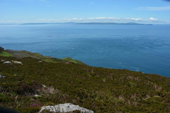 The Ugadale Hotel & Cottages: Mull of Kintyre-N. Ireland in distance
