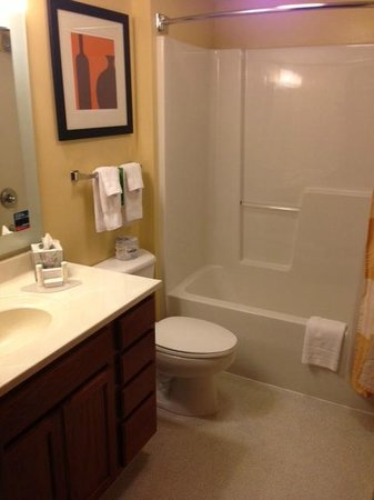 TownePlace Suites Cleveland Streetsboro : Bathroom