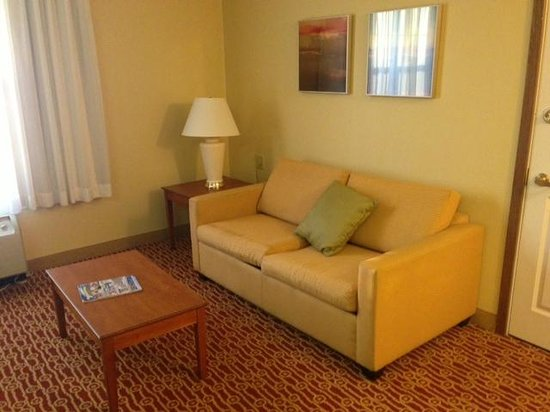 TownePlace Suites Cleveland Streetsboro : Lounge area