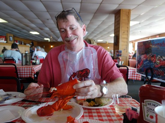 Newick's Lobster House: The Husband, the Lobster, the Happiness