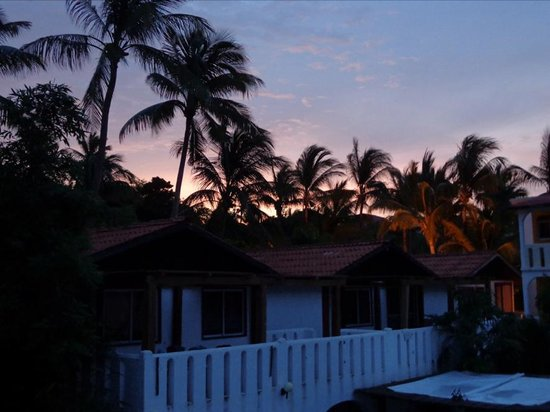 Bungalows Zicatela: before sunrise