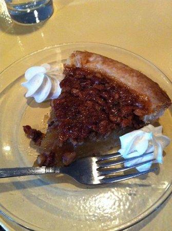 All Aboard Restaurant: pecan pie