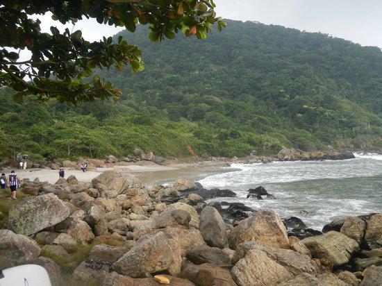 Sao Vicente, SP: Meio da Praia de Itaquitanduva