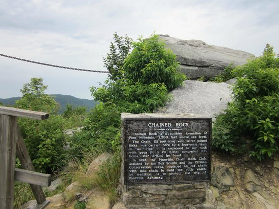 Pine Mountain State Resort Park: Chained Rock