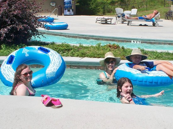 Fontana Village Resort: Lazy river is always a hit