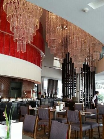 Crystal Palace Hotel: cafe