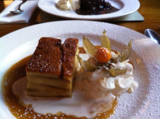 Bricín Restaurant : Toffee Banana Bread Pudding