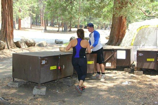 Camp 4 : Food storage