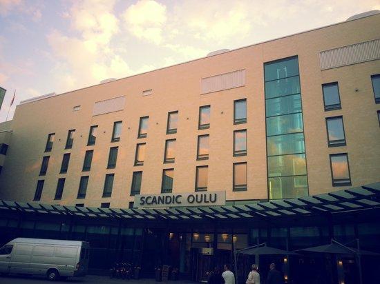 Scandic Oulu: Entrance