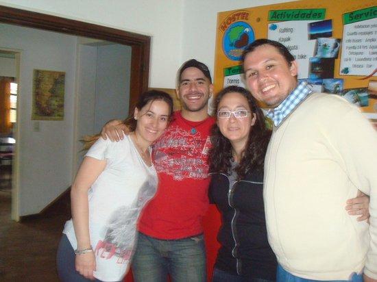 Rodinia Hostel: Junto a nuestros amigos