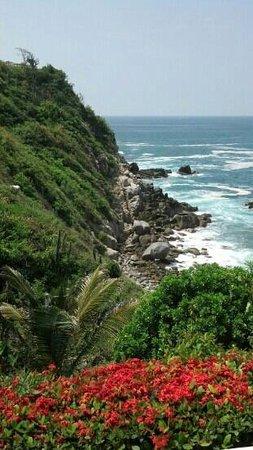 vista desde el hotel villas coral