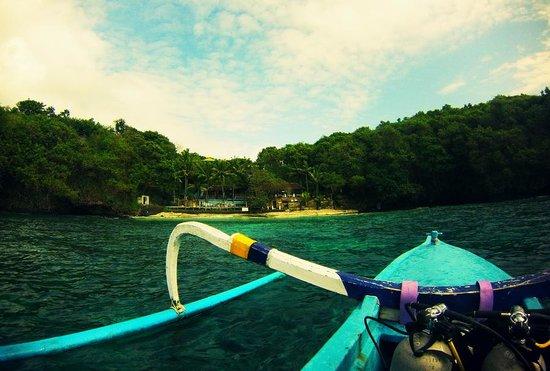 Bali Breizh Divers: Le site de plongée de Blue Lagoon à Pandangbai