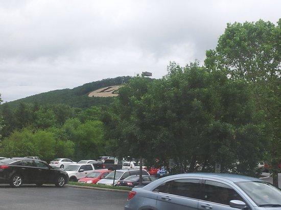 Super 8 Lynchburg VA: View from RM 103 Liberty Univ.