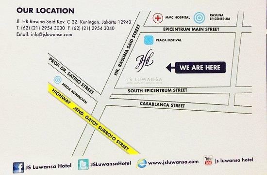 Shammah: Our Location