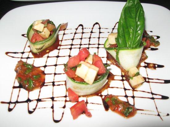 BergBlick Restaurant : Tomato Mozarella Salad