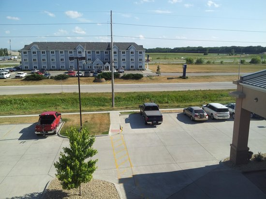 Fairfield Inn & Suites Ames: View from RM 320