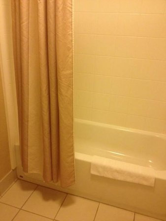 Albany Courtyard by Marriott: Bathrub/Shower