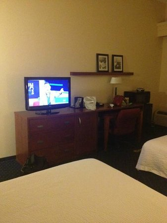 Albany Courtyard by Marriott: Television