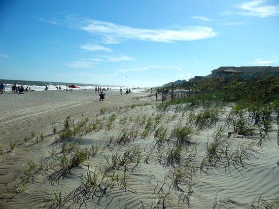Holiday Trav-L-Park Resort: View from their beach access