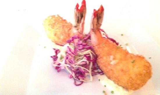 Norman's: Yuca Stuffed Crispy Shrimp