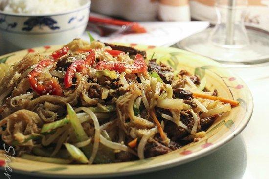 Panda: Spicy Tripe & beef