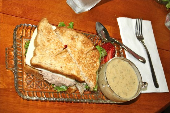 The Flour Sack: Soup & Sandwich