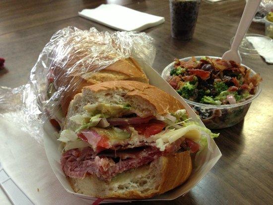 Compagno's Market & Deli : Navy sandwich