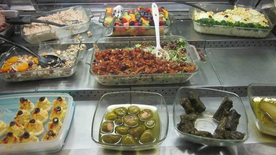 Compagno's Market & Deli : Broccoli salad and other sides
