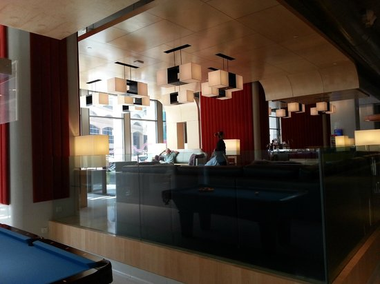 Aloft Kuala Lumpur Sentral: Lobby area