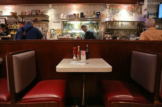 Morning Star Cafe: View from inside - MS